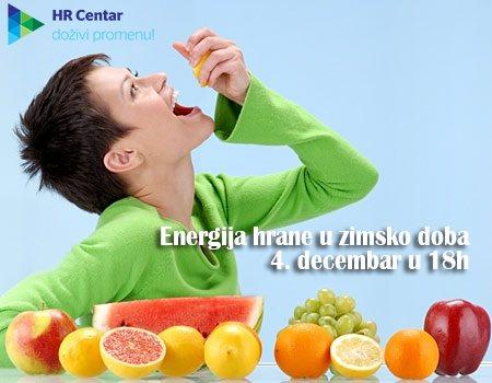 Energija hrane u zimsko doba 1